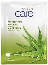 Kup Odświeżająca maska na tkaninie do twarzy z aloesem - Avon Care Aloe Refreshing Sheet Mask