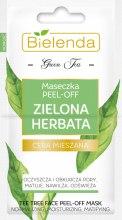 Kup Maseczka peel-off do cery mieszanej Zielona herbata - Bielenda Green Tea