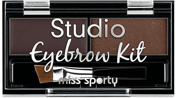 Paleta cieni do brwi - Miss Sporty Eyebrow Kit Studio
