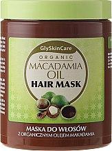 Kup Maska do włosów z organicznym olejem makadamia - GlySkinCare Macadamia Oil Hair Mask
