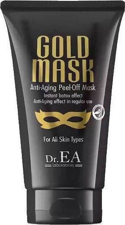 Przeciwstarzeniowa maska do twarzy typu peel-off - Dr.EA Gold Mask Anti-Aging Peel-Off Mask