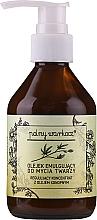 Kup Olejek emulgujący do mycia twarzy z olejem konopnym - Polny Warkocz