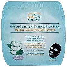 Kup Maska na tkaninie do twarzy intensywnie oczyszczająca skórę - SeeSee Intense Cleansing Firming Mud Facial Mask