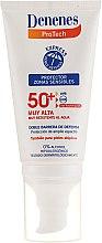 Kup Krem przeciwsłoneczny do wrażliwej skóry twarzy z filtrem SPF 50 - Denenes Sun Protective Cream