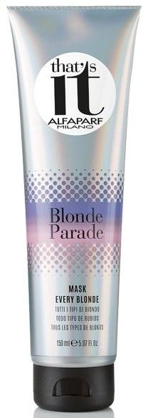 Maska do wszystkich odcieni blond - Alfaparf That's It Blonde Parade Every Blonde Mask — фото N1