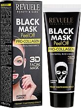 Kup Prokolagenowa czarna maska do twarzy peel-off - Revuele Black Mask Peel Off Pro-Collagen