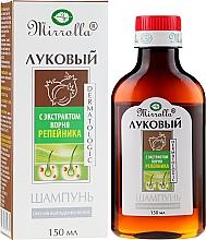 Kup Szampon cebulowy z wyciągiem z korzenia bursztynu - Mirrolla