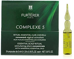 Kup Ampułki do skóry głowy - Rene Furterer Complexe 5 Essential Scalp Ritual Stimulating Plant Concentrate With Warming Esential Oils