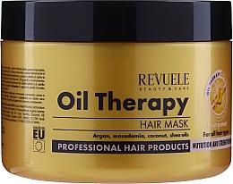 Kup Maska do włosów suchych na bazie olejków - Revuele Professional Oil Therapy Hair Mask