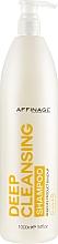 Kup Głęboko oczyszczający szampon do włosów - Affinage Salon Professional Deep Cleansing Shampoo