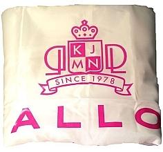Kup Peleryna fryzjerska, biała - Kallos