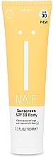 Kup Aktywny podkład przeciwsłoneczny do ciała Spf 30 - Naif Sunscreen Body Spf30