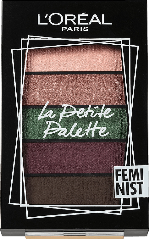 Paletka cieni do powiek - L'Oreal Paris La Petite Palette Feminist Eyeshadow