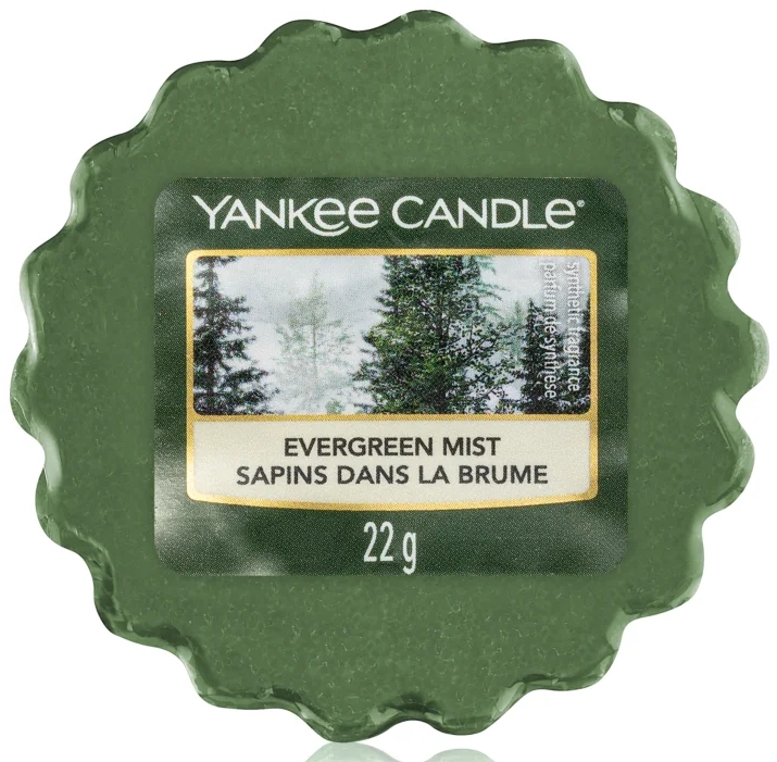 Wosk zapachowy - Yankee Candle Evergreen Mist Wax Melts — фото N1