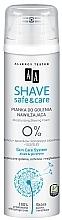Kup Nawilżająca pianka do golenia Aloes i gliceryna - AA Shave Safe & Care