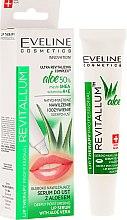 Kup Głęboko nawilżające serum do ust z aloesem - Eveline Cosmetics Lip Therapy Professional Revitallum Aloe