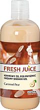 Kup Kremowy żel pod prysznic Karmelizowana gruszka - Fresh Juice Caramel Pear Creamy Shower Gel