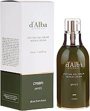 Kup Naprawczy krem peptydowy regulujący wydzielanie sebum - D'Alba Peptide No-Sebum Repair Cream