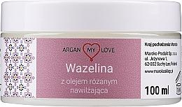 Kup Nawilżająca wazelina z olejem różanym - Argan My Love