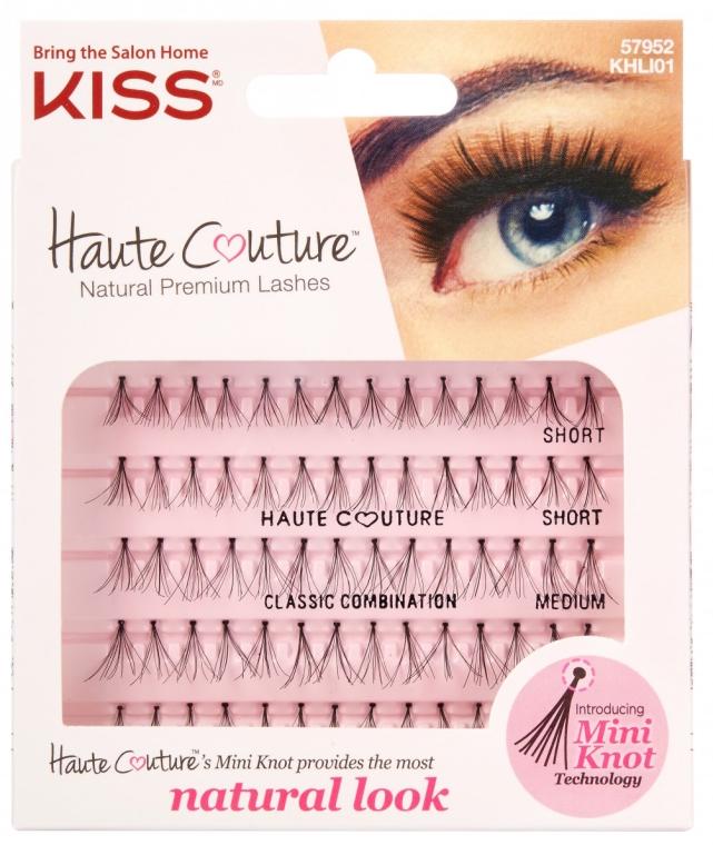 Kępki rzęs - Kiss Haute Couture Natural Premium Lashes — фото N1