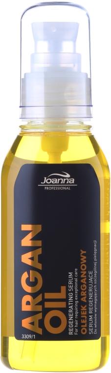 Regenerujące serum do włosów z olejem arganowym - Joanna Professional — фото N3