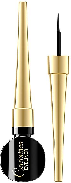 Ultraprecyzyjny eyeliner w kałamarzu - Eveline Cosmetics Celebrities