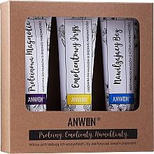 Kup Zestaw odżywek do włosów - Anwen Magnolia, irys i bez (cond 3 x 100 ml)