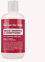 Kup Szampon z odżywką do brody - Recipe for Men Beard Shampoo & Conditioner