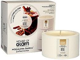 Kup Modułowa świeca zapachowa - House of Glam Hot Spiced Wine Candle