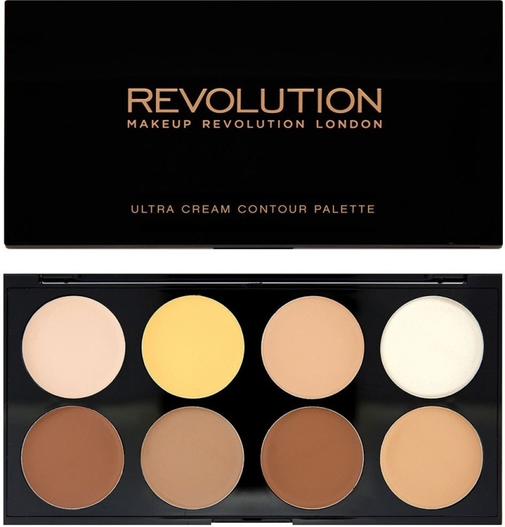Paleta do konturowania - Makeup Revolution Ultra Cream Contour Palette