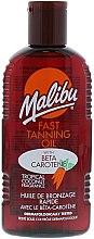 Kup Ekspresowo brązujący olejek do ciała - Malibu Fast Tanning Oil with Carotene
