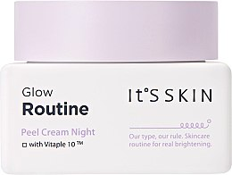 Kup Złuszczający krem do twarzy na noc - It's Skin Glow Routine Peel Cream Night