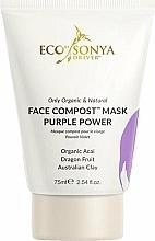 Kup Odżywcza maska do twarzy - Eco by Sonya Face Compost Mask Purple Power