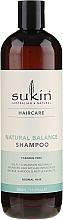 Kup Naturalny szampon balansujący do włosów normalnych - Sukin Natural Balance Shampoo