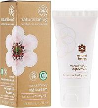 Kup Krem do twarzy na noc z miodem manuka do cery normalnej i suchej - Natural Being Manuka Honey Night Cream