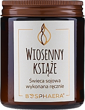 Kup Zapachowa świeca sojowa Wiosenny książe - Bosphaera