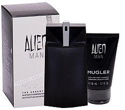 Kup Mugler Alien Man - Zestaw (edt 100 ml + sh/gel 50 ml)