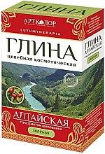 Kup Ałtajska kosmetyczna glinka zielona z ekstraktem z dzikiej róży - Artkolor