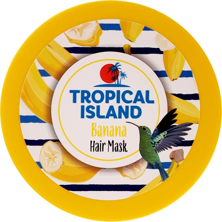 Odżywcza maska do włosów Banan - Marion Tropical Island