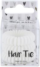 Kup Białe gumki do włosów - Cosmetic 2K Hair Tie White