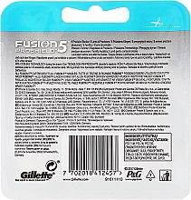 Wymienne wkłady do maszynki do golenia, 4 szt. - Gillette Fusion Proshield Chill — фото N2