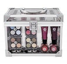 Kup Zestaw do makijażu - Makeup Trading Crystal Beauty Train Case Transparent