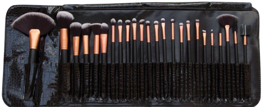 Zestaw pędzli do makijażu, 24 szt. - Rio Professional Cosmetic Make Up Brush Set — фото N1