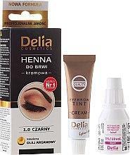 Kup Henna do brwi w kremie - Delia Cosmetics Eyebrow Expert