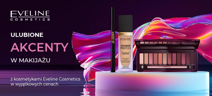 Ulubione akcenty w makijażu z kosmetykami Eveline Cosmetics w wyjątkowych cenach. Сeny uwzględniają zniżkę.