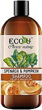 Kup Szampon do włosów suchych i zniszczonych Szpinak i dynia - Eco U Pumpkins And Spinach Shampoo