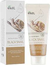Kup Delikatny peeling - Ekel Natural Clean Peeling Gel Black Snail