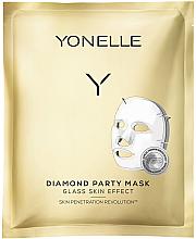 Kup PRZECENA! Diamentowa maska w płachcie do twarzy - Yonelle Diamond Party Mask *