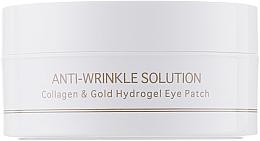 Kup Hydrożelowe płatki pod oczy z kolagenem i złotem koloidalnym, rozmiar standardowy - BeauuGreen Collagen & Gold Hydrogel Eye Patch