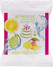 Kup Oczyszczające chusteczki do twarzy - Benecos Natural Care Happy Cleansing Wipes